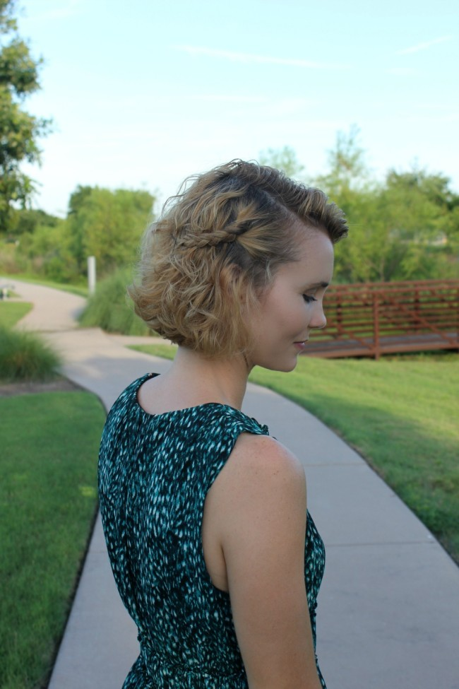 Quick and Easy 3-Step Hairstyle Idea for Short Hair #StyleItYourself
