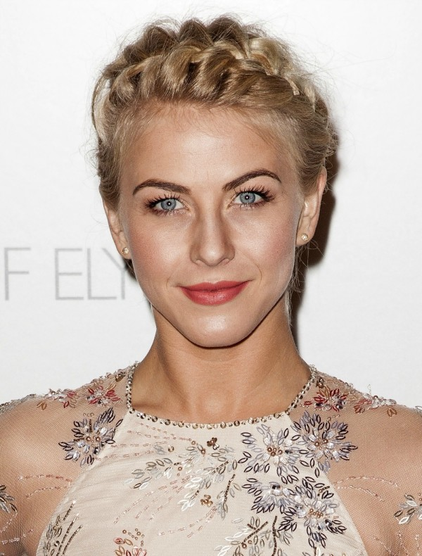How to do a Crown Braid - Julianne Hough