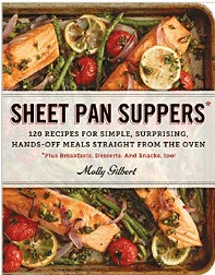 Sheet Pan Suppers -- A great way to cook up healthy, flavorful, low mess meals for your family.