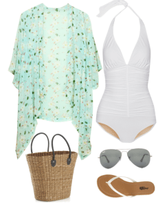 Cute Outfit Ideas of the Week #60 – Swim Suits and Kimonos