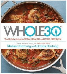 The Whole 30 Cookbook -- recipes and real life stories from The Whole 30 way of life.