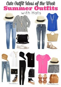 Cute Outfit Ideas of the Week #57 – Summer Outfits with Hats