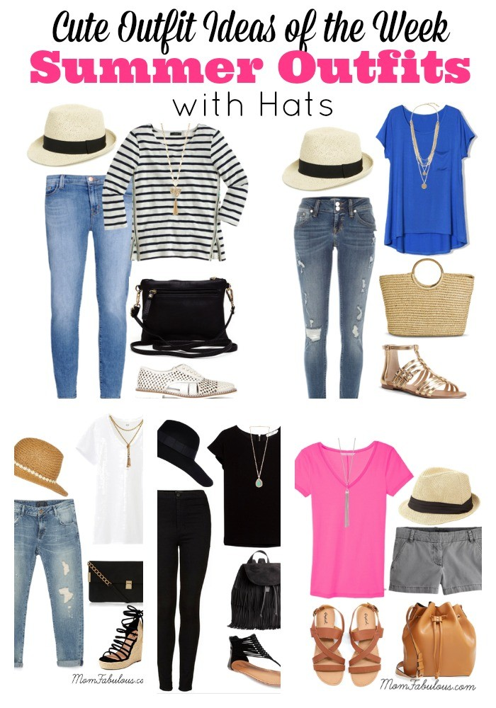 Cute outfit ideas of the week featuring outfits with hats