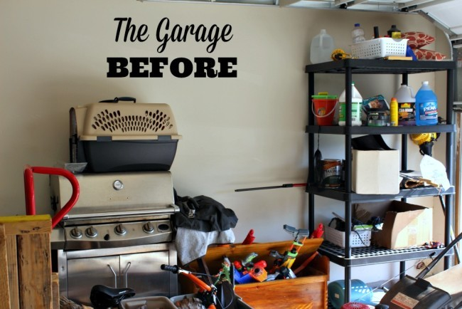 garage diy organizing project-01