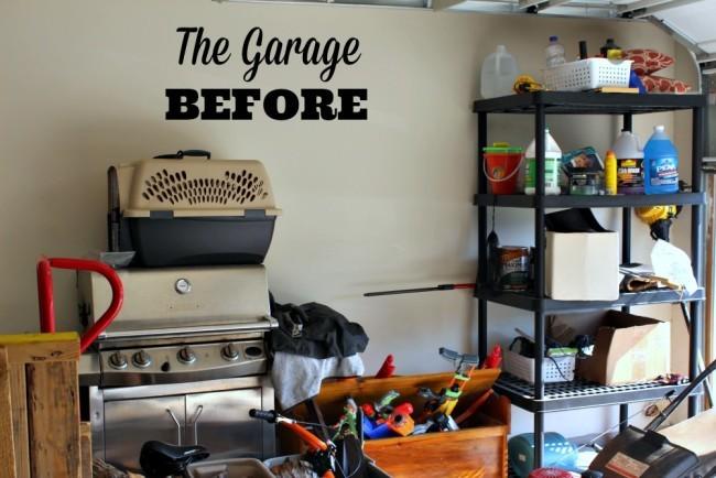 garage diy organizing project-01