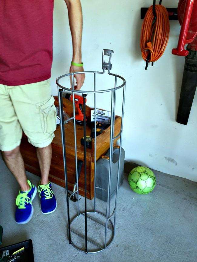garage diy organizing project-10