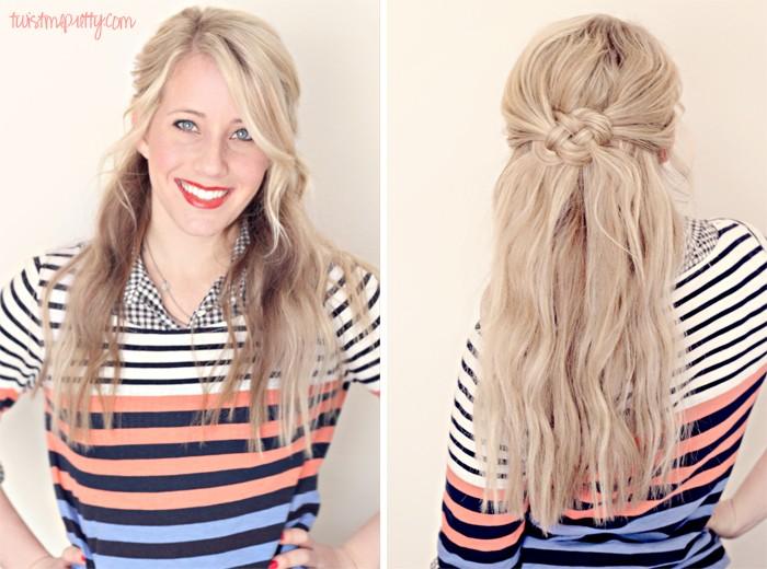 Cool 25 Gorgeous Half Up Half Down Hairstyles Mom Fabulous Short Hairstyles Gunalazisus