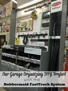 Our Garage Organizing DIY Project