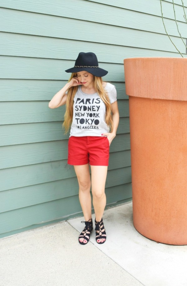 summer hat outfit
