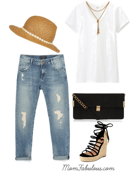 summer hat outfits for women