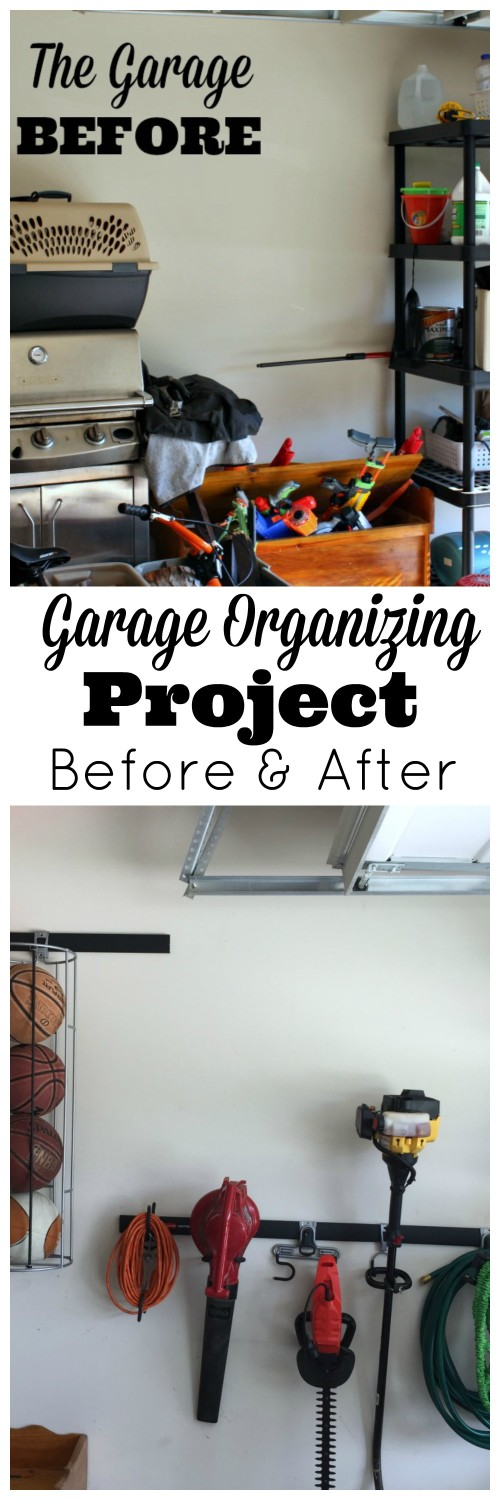 Garage organizing DIY