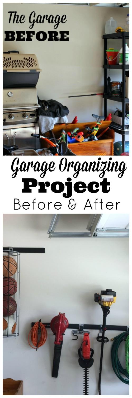 Garage organizing DIY