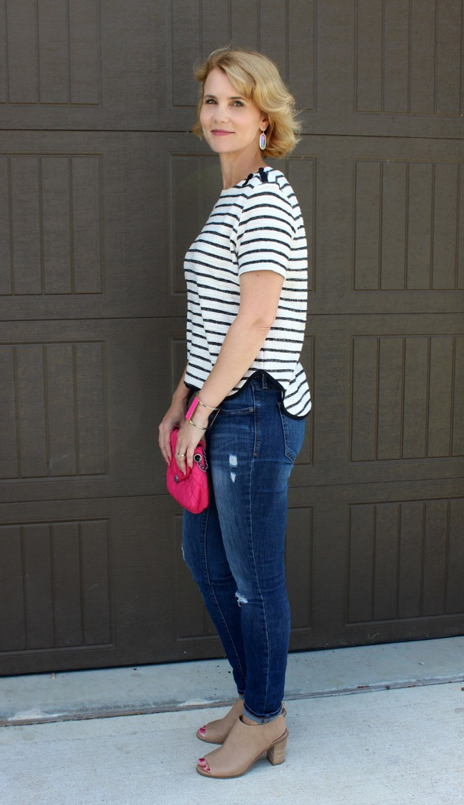 Striped Shirt outfit ideas-05