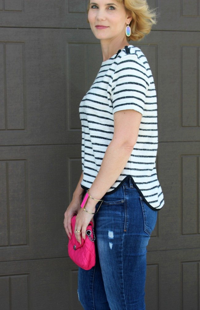 Striped Shirt outfit ideas-06