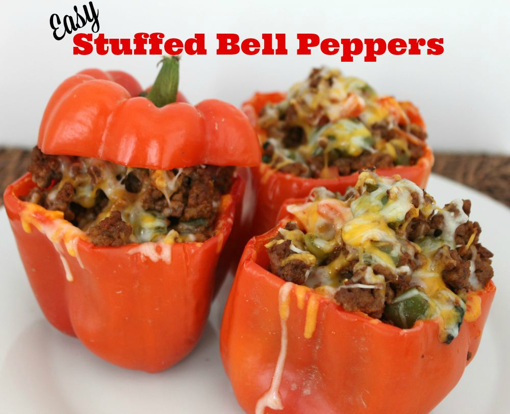 This easy stuffed bell peppers recipe is perfect for a weeknight meal ...
