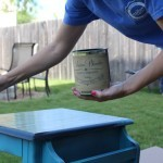 An Easy Before & After DIY Project with Vintage Furniture Paint