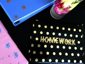 Making Your School Supplies Your Own