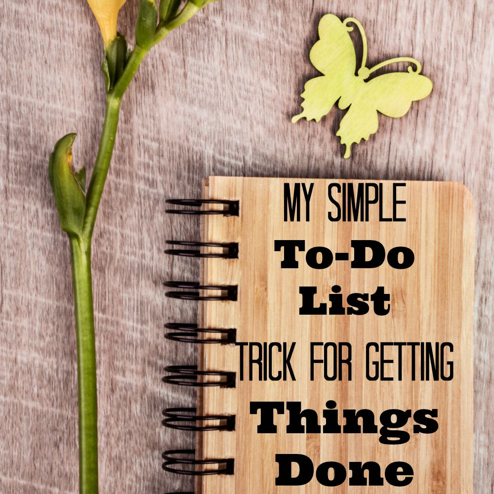 simple how to get things done