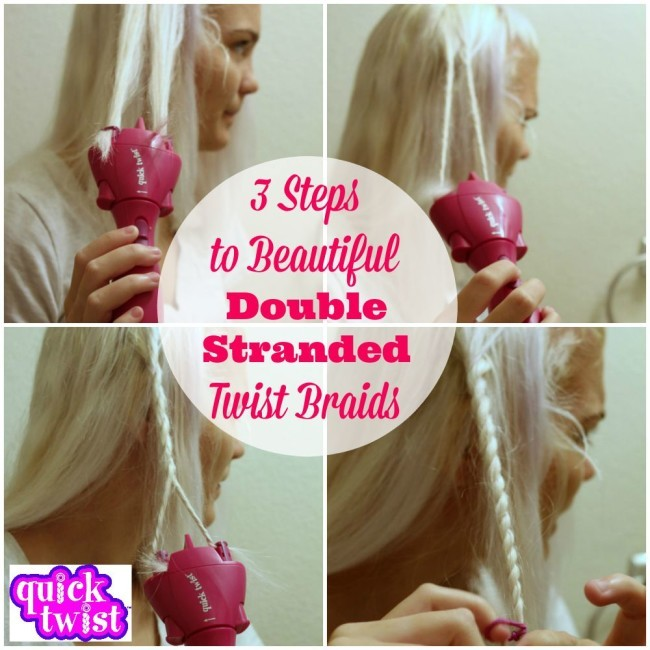 The Conair Quick Twist is a quick, fun, easy, new way to twist, twirl, accessorize, and style your hair at the push of a button.