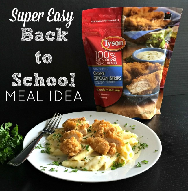 An incredible easy chicken meal idea for back to school time. There are some nights (most nights) I need and want dinner on the table in 30 minutes. This recipe is easy, fast and requires little clean up!