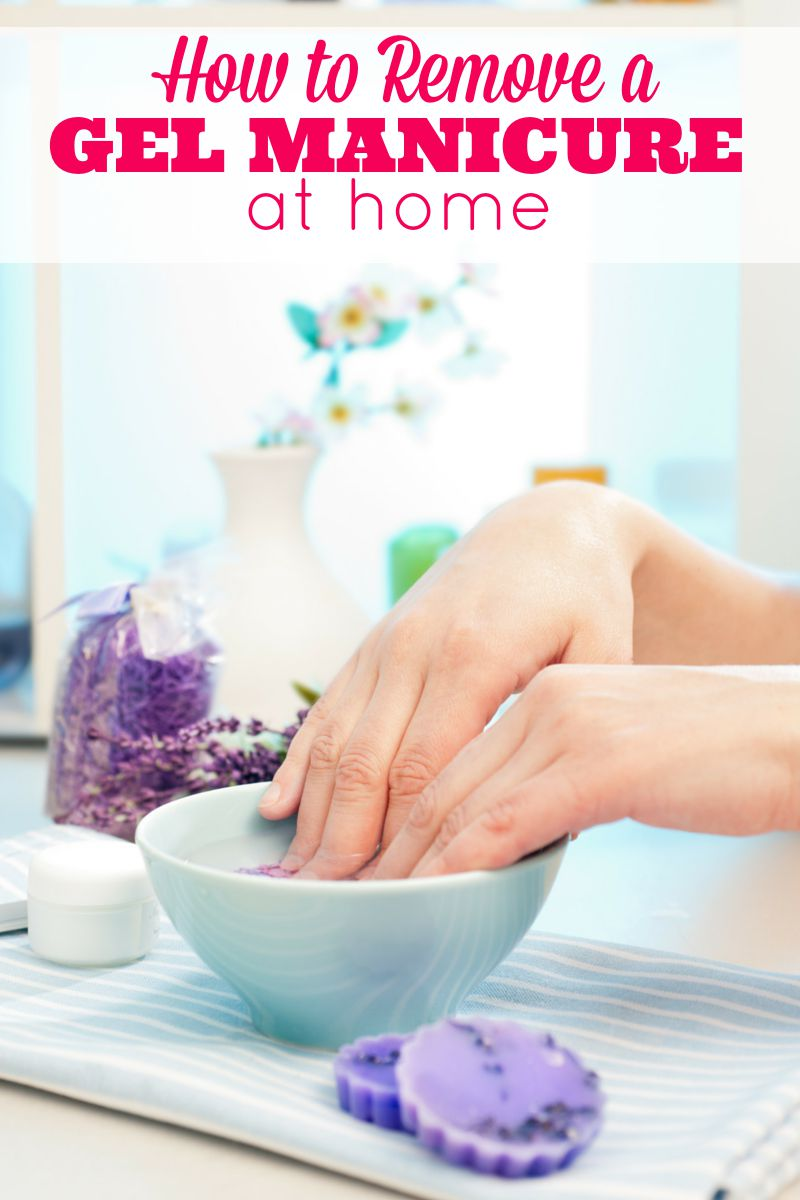 Keep reading for tips on how to remove a gel manicure at home…