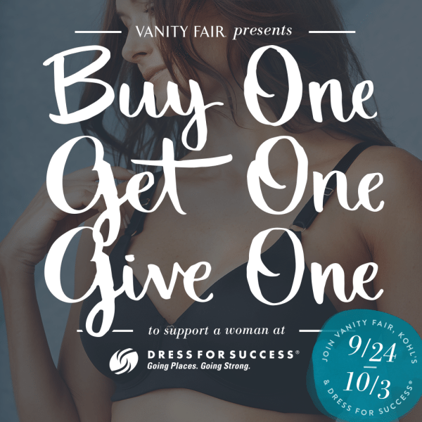 vanity fair buy one get one give one