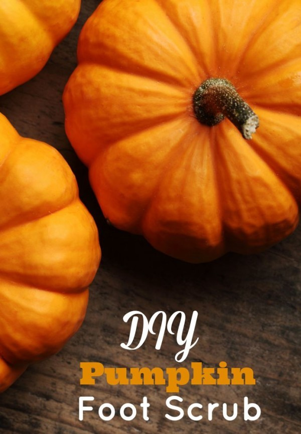 This DIY Pumpkin Foot Scrub is easy to make and contains ingredients you most likely already have on hand. Pumpkins are not just for carving scary faces in. They're rich in vitamins and nutrients and can do wonders for your feet! If you're looking for Pumpkin beauty recipes, you have to try this!