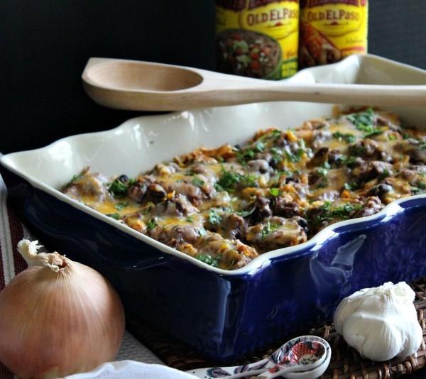 Easy Mexican Chicken Casserole-04