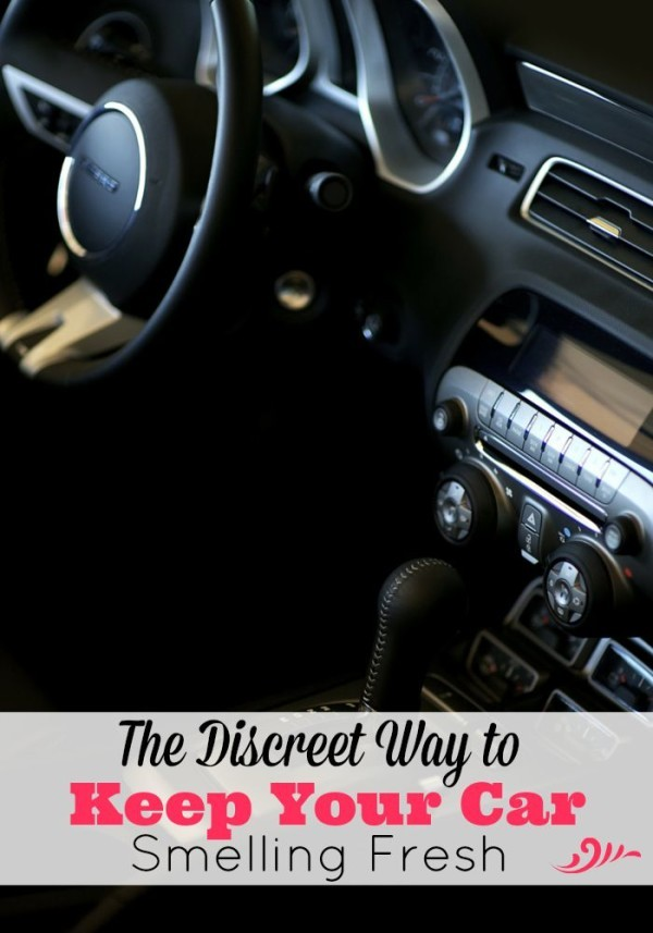 How would you like to keep an air freshener in your car that is discreet, long lasting, doesn't leak or block the air vent and smells amazing? There's an easy way and a fantastic product that is perfect!