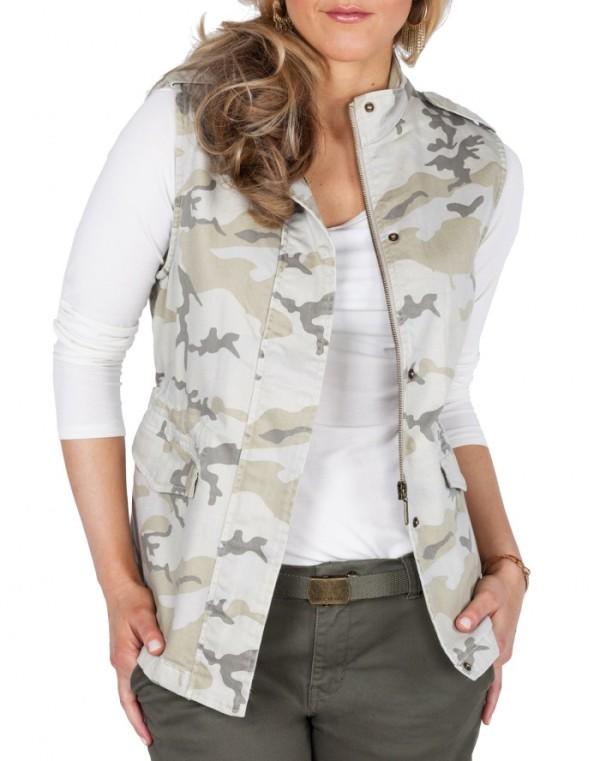 camp vest outfit idea