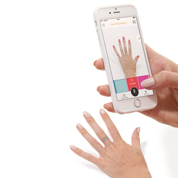 With the Sally Hansen ManiMatch App, users can try on over 200 Sally Hansen nail polish shades in real time, on their nails, before they buy. It's just what your nails have been asking for! See how to use it and where to download it, plus check out the gorgeous fall nails and colors.