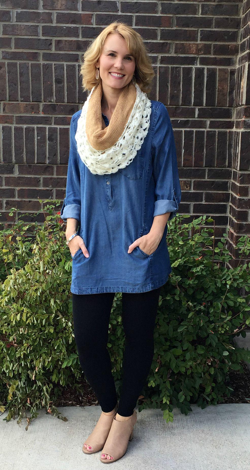 Moms Do Fall Fashion - The Tunic of all Tunics   Mom Fabulous