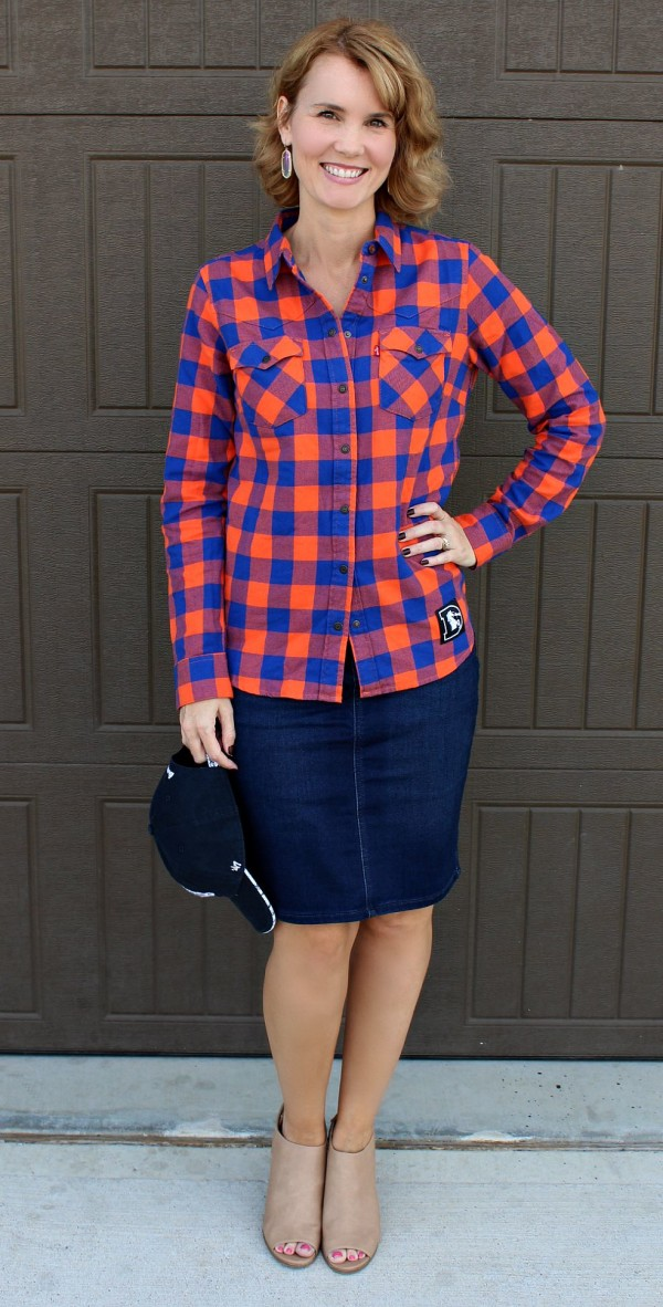 My Stylish Game Day Outfit | Mom Fabulous