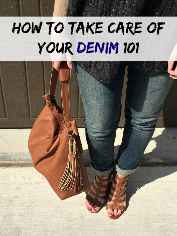 You spend good money on your denim and you wear them like crazy in the fall and winter right? Me too. Here are some tips I learned about how to properly care for your denim so they last. Number 3 surprised me the most.