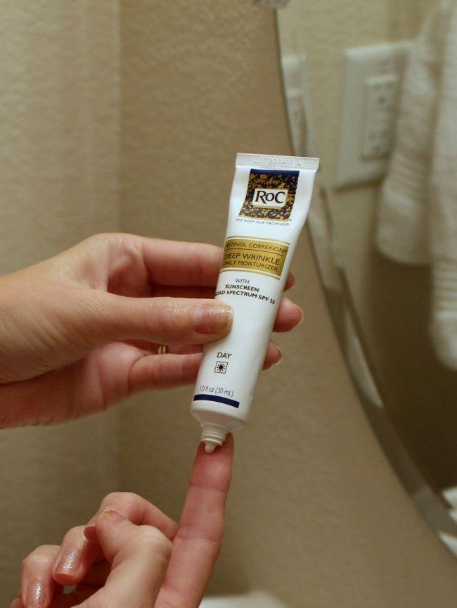 roc retinol correction deep wrinkle cream