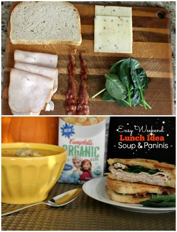Are you looking for panini recipes? Pair soup with a warm, crispy panini for the perfect weekend lunch idea. I have a few rules when it comes to making the perfect panini. The last one is particularly important!