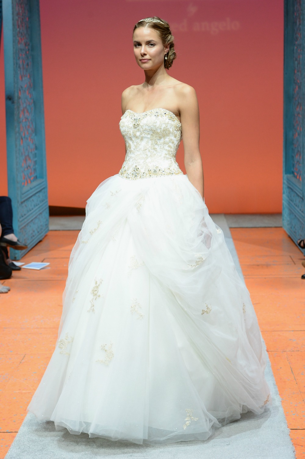The 2016 disney fairy tale weddings collection by alfred for Angelo alfred wedding dresses