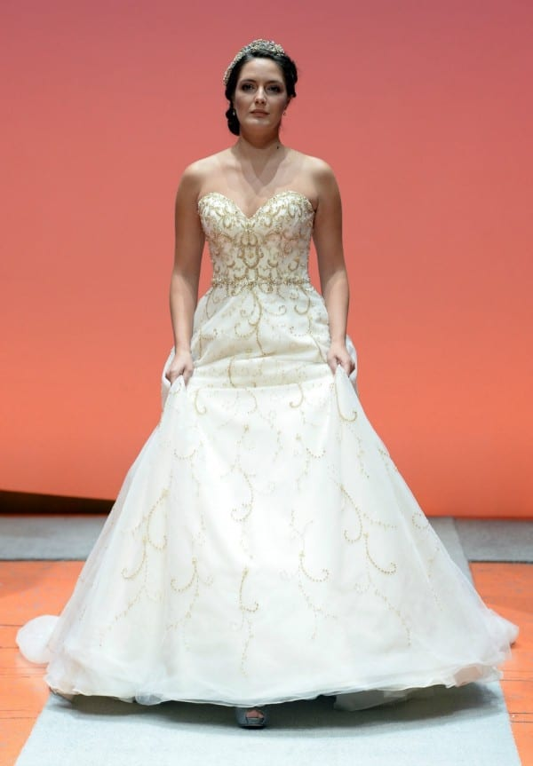 Cinderella wedding gown 2016
