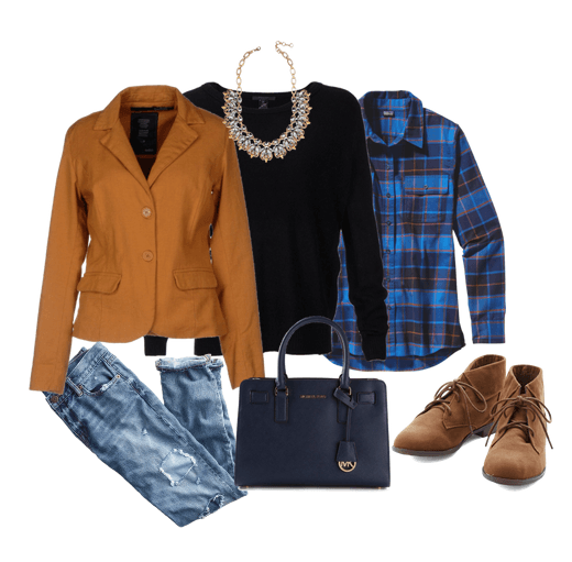 These sweater Outfits are the perfect balance between great layers and a great looking outfit. Layer a long sleeve button up shirt under your sweater, pair it with boots and your favorite jeans - and you have the perfect outfit for winter.