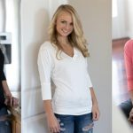 Holiday Gift Ideas: V-Neck Dolman, Pearl Cluster Necklace, Large Boutique Knit Animals