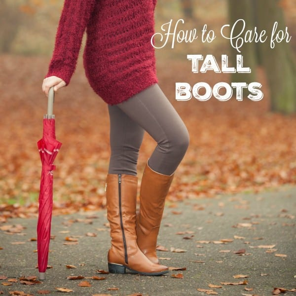 Tall boots can lose their shape if not properly stored and cared for. Here's my not so secret tool I use to hep keep their shape and stored well all year long.