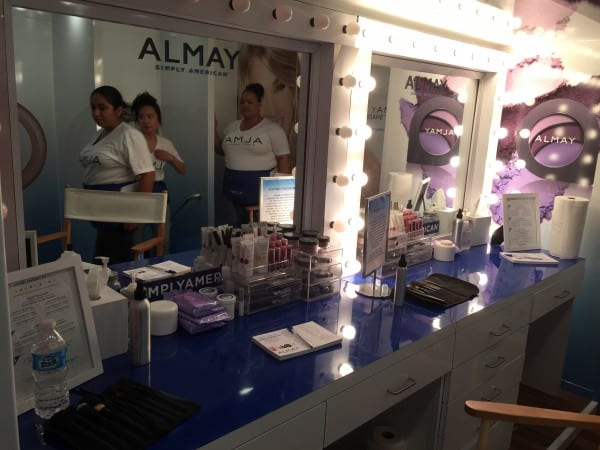 Almay #SimplyAmerican Bus Tour