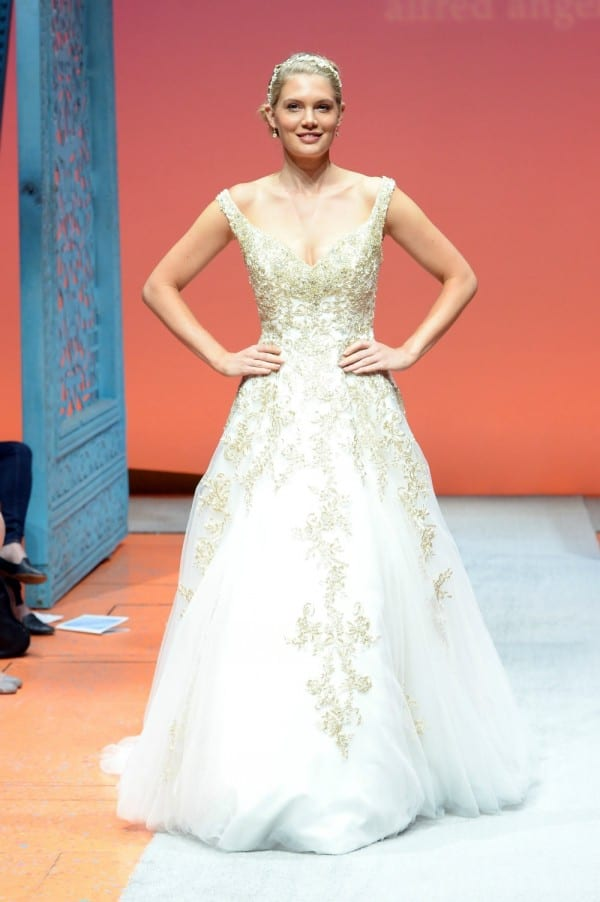 Rupunzel wedding gown 2016