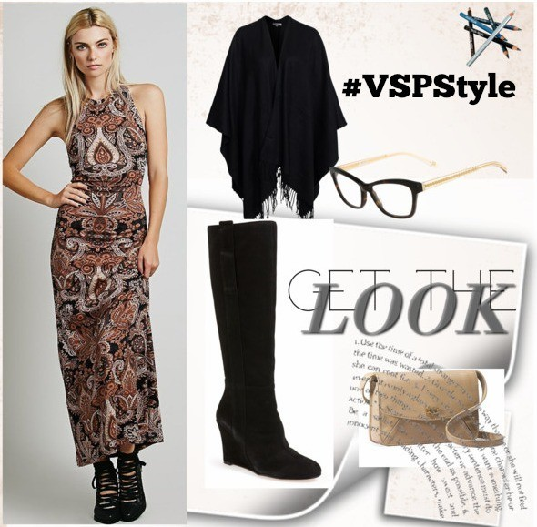 Frame Your Fall Look - The boho trend is big this year when it comes to fall fashion. Here are a couple of fun looks incorporating boho style and a favorite accessory - glasses!