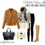 Day 13: Over the Knee Boot Outfit Ideas