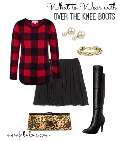 These over the knee boot outfit ideas are perfect for your fall fashion needs. Go casual with jeans and a tee, or dressy with a skirt.