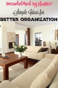 Getting in the Mom Mindset: Ideas for Better Organization