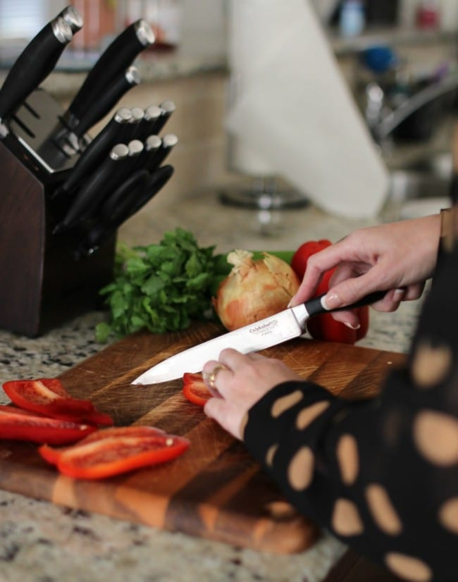 calphalon knife set01
