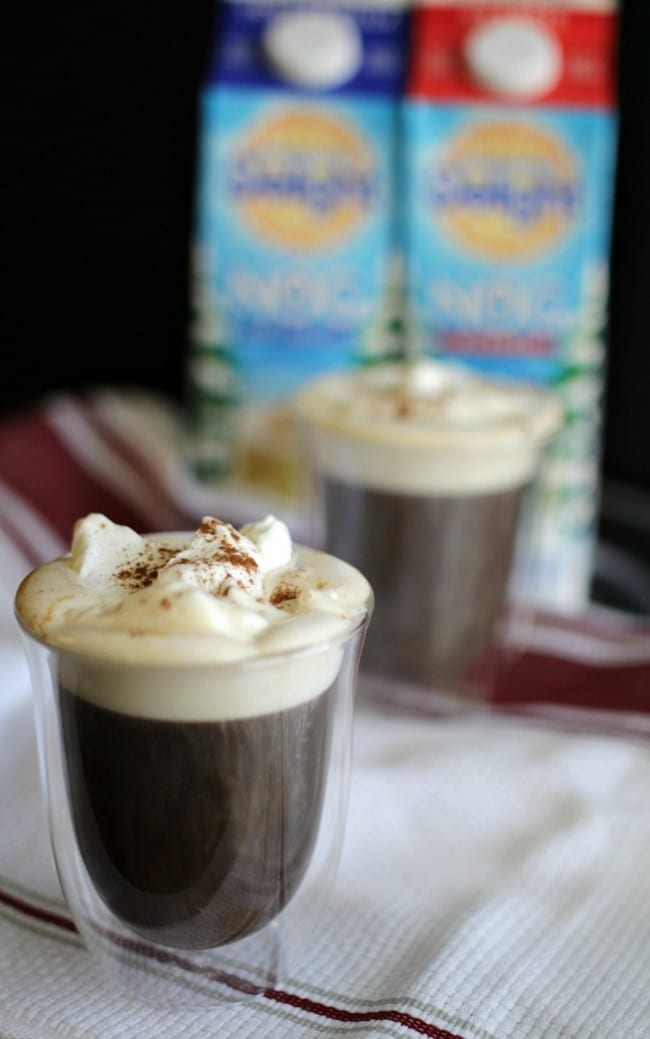 Homemade Egg Nog Whipped cream turns an average cup of coffee or cocoa, into a rich, creamy cup of goodness. It's easy to make with International Delight nogs and keeps in your refrigerator for a few days.