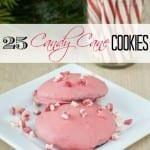 25 Candy Cane Cookies